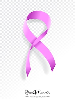 Breast cancer awarness month illustration design