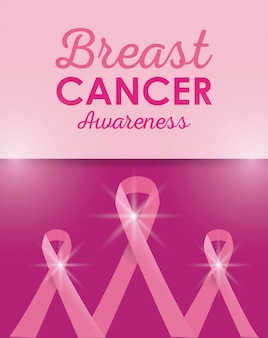 Breast cancer campaign poster