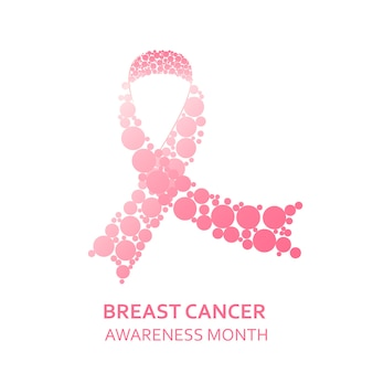 Breast cancer day concept.