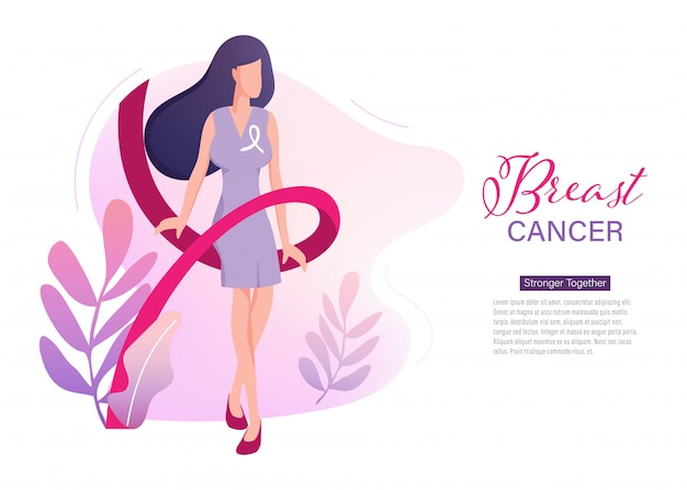 Breast cancer day international landing page