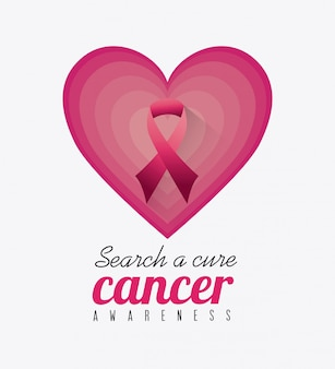 Breast cancer design.