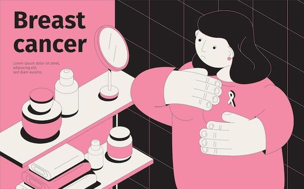 Иллюстрация рака груди