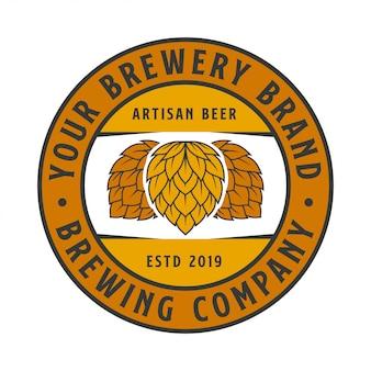 Brewing label company logo