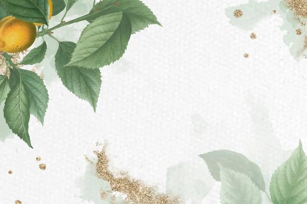 ブライアンソンアプリコットの葉のパターンの背景ベクトル