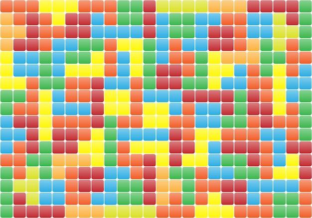 Brick game puzzle background