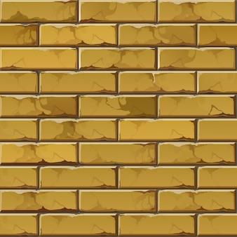 レンガの壁の背景テクスチャパターン