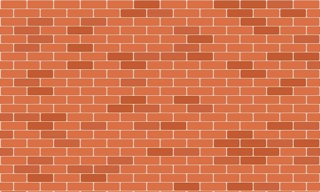 Brick wall pattern seamless background. realistic decorative background.  illustration.