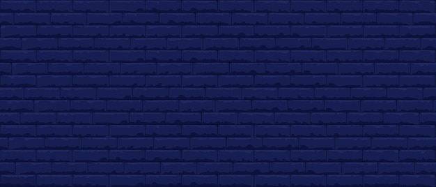 Brick wall pattern seamless background. realistic decorative background.