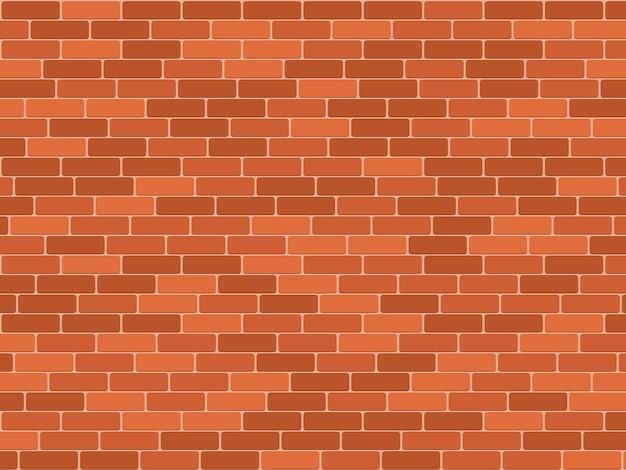 シームレスなレンガの壁のパターン
