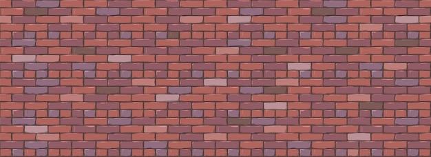 レンガの壁のテクスチャの背景。現代の現実的な異なる色のレンガの壁のテクスチャ。