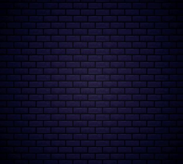 レンガ黒壁の背景