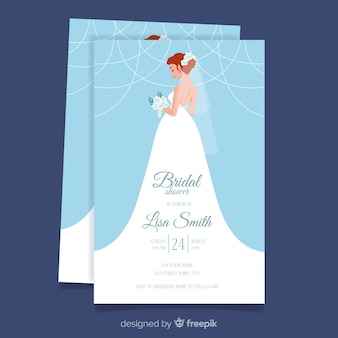 abb221ba91 Bridal shower invitation