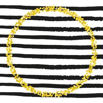 Свадебный блеск. золотая абстрактная обложка. рождественская частица. черный блестящий журнал. сохранить дату обои. полоса модная рамка. предложение декабря. желтый свадебный блеск