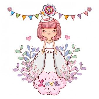 Bride cute drawings cartoons