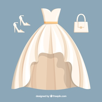 Bride outfit