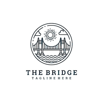 The bridge line logo