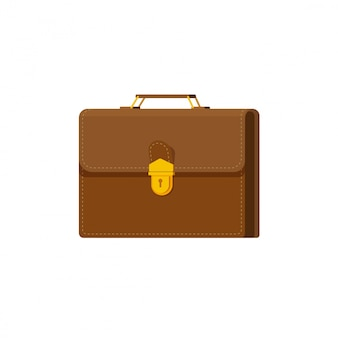 Briefcase or case vector illustration isolated