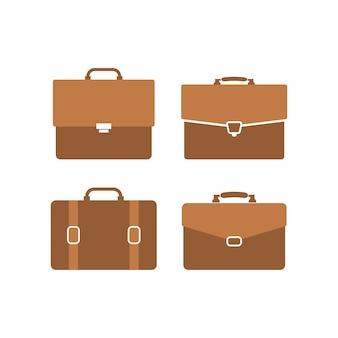 Briefcase graphic design template vector illustration