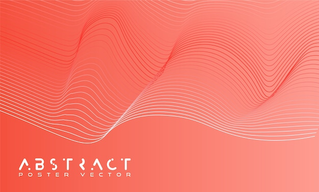 Bright abstract background with a dynamic waves.