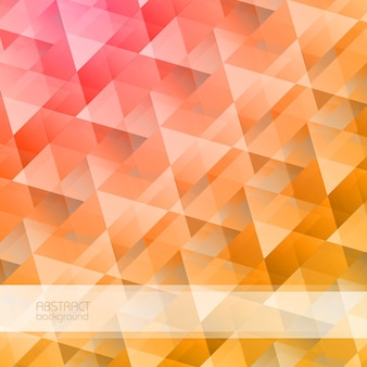 Bright abstract geometric with colorful triangular crystal shapes in mosaic style illustration