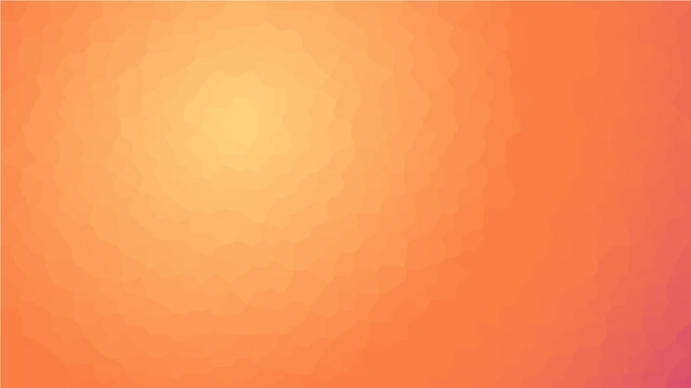 Bright abstract mosaic orange background