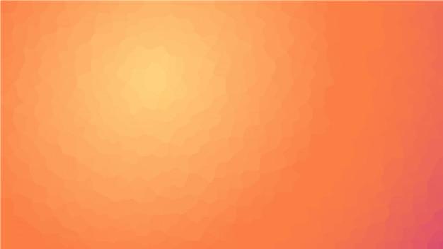 Bright abstract mosaic orange background