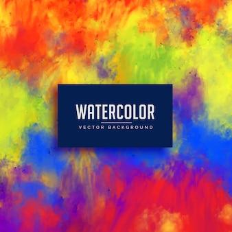 Яркий абстрактный акварельный фон пятно