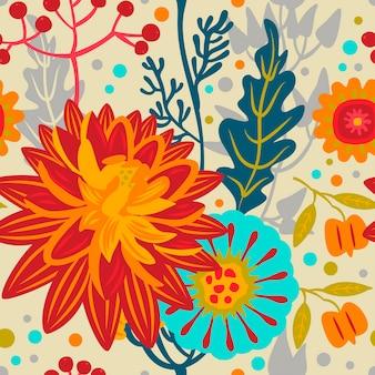 Bright autumnal  pattern.