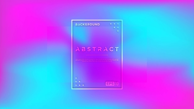 Bright background gradient pink and blue with white line