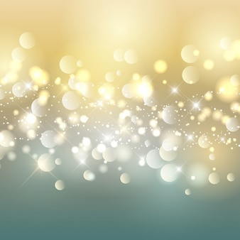 Bright background with bubbles