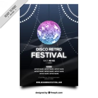 Bright ball festival flyer
