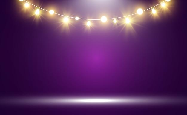 Яркие, красивые фонари, элементы дизайна.