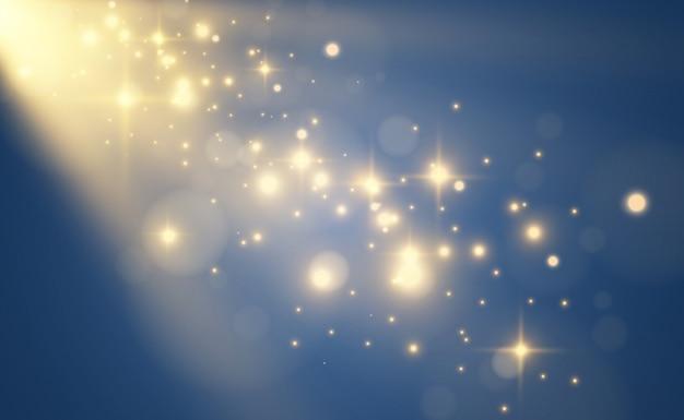 투명 배경에 밝고 아름다운 불꽃.