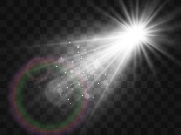 Яркая красивая звезда иллюстрация светового эффекта