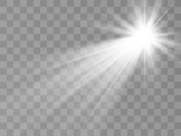 明るく美しい星のイラスト
