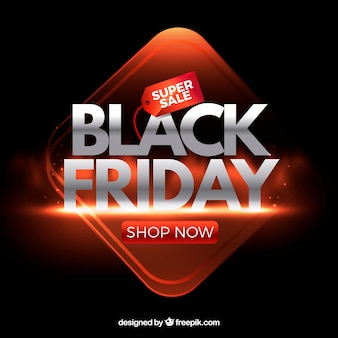 Bright black friday background