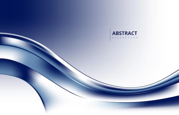 Ярко-синий абстрактный современный волна градиент текстуры фона обои графического дизайна