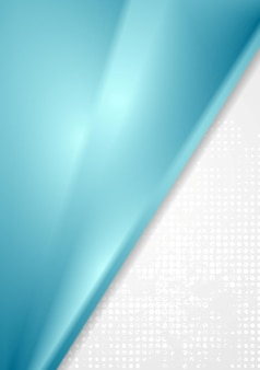 Bright blue grey abstract vector background