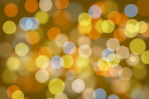 Bright bokeh lights background