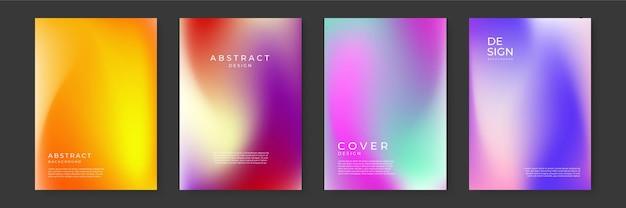 최소한의 동적 커버 디자인을 위한 메쉬 그라디언트 텍스처가 있는 밝은 색상 배경. 파란색, 분홍색, 빨간색, 노란색. 그래픽 디자인, 배너, 여름 또는 아쿠아 포스터를 위한 벡터 일러스트 레이 션