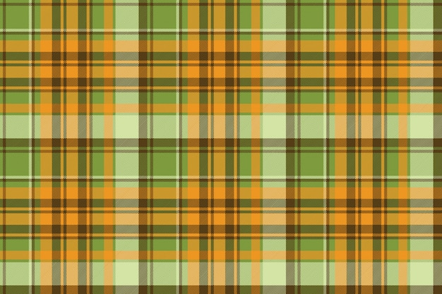Bright color check plaid seamless pattern