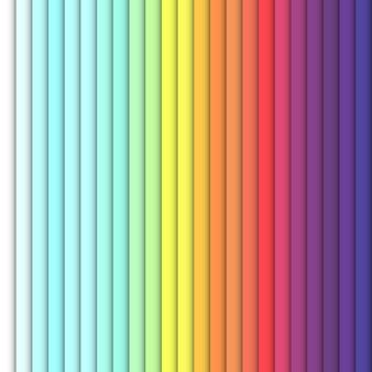Bright color vertical rectangles