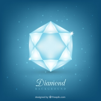 Sfondo luminoso diamante