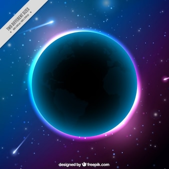 明るい地球の背景