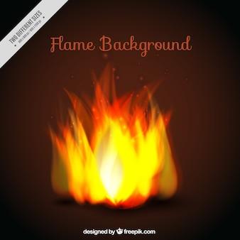 Яркий фон огонь