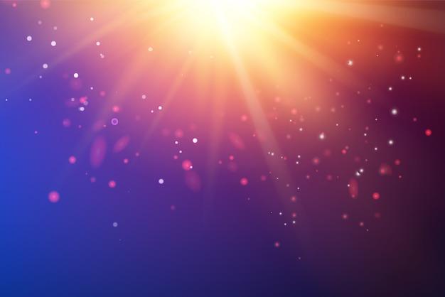 明るい紫外線が深紫外空間をスパーク