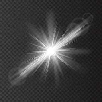 Bright flash of light