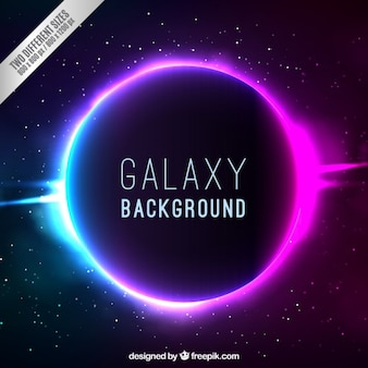 Bright galaxy background
