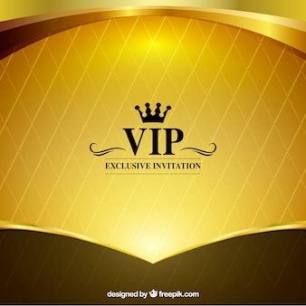 Bright golden vip background