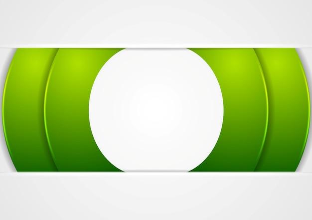 밝은 녹색 추상적인 기업 배경. 벡터 디자인